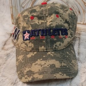 "Digicam Camouflage Ball Cap ""Athletes Work"""